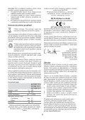 BlackandDecker Perceuse- Cd71cre - Type 1 - Instruction Manual (Tchèque) - Page 6