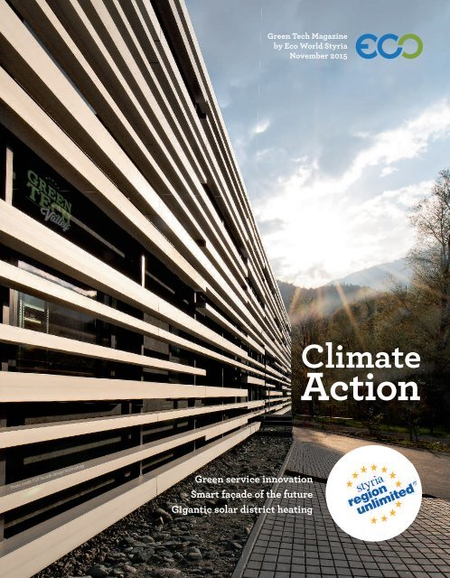 Green Tech Magazine by Eco World Styria November 2015