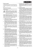 BlackandDecker Perceuse S/f- Egbl108 - Type H1 - Instruction Manual (Tchèque) - Page 3