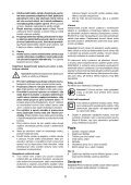 BlackandDecker Marteau Perforateur- Cd714re - Type 1 - Instruction Manual (Tchèque) - Page 5