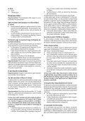 BlackandDecker Perc/vis/devis S/f- Hpl106 - Type H1 - Instruction Manual (la Hongrie) - Page 6