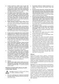BlackandDecker Perceuse S/f- Hp186f4lbk - Type H3 - Instruction Manual (Tchèque) - Page 4