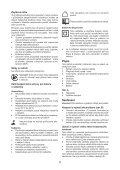 BlackandDecker Perceuse S/f- Hp186f4lbk - Type H3 - Instruction Manual (Tchèque) - Page 5