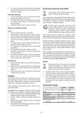 BlackandDecker Perceuse S/f- Hp186f4lbk - Type H3 - Instruction Manual (Tchèque) - Page 7