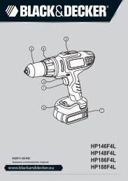 BlackandDecker Perceuse S/f- Hp186f4lbk - Type H2 - Instruction Manual (Roumanie)
