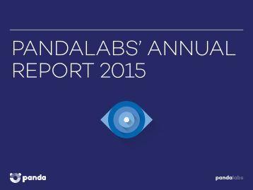PANDALABS' ANNUAL REPORT 2015