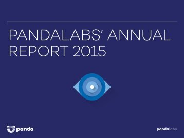 PANDALABS' ANNUAL REPORT 2015