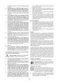 BlackandDecker Marteau Perforateur- Kr504cres - Type 1 - Instruction Manual (la Hongrie) - Page 5