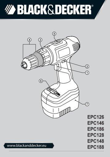 BlackandDecker Perceuse S/f- Epc186 - Type H1 - Instruction Manual (Européen Oriental)