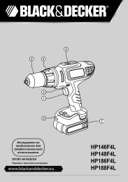 BlackandDecker Perceuse S/f- Hp188f4lbk - Type H1 - Instruction Manual (Russie - Ukraine)