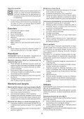 BlackandDecker Marteau Perforateur- Kr504cres - Type 2 - Instruction Manual (Roumanie) - Page 6