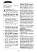 BlackandDecker Marteau Perforateur- Kr504cres - Type 2 - Instruction Manual (Turque) - Page 4