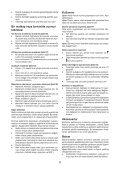 BlackandDecker Marteau Perforateur- Kr504cres - Type 2 - Instruction Manual (Turque) - Page 6