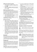 BlackandDecker Perceuse- Kr705 - Type 1 - Instruction Manual (Roumanie) - Page 6