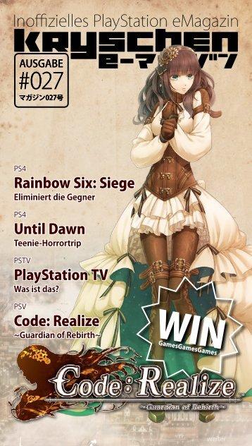 Inoffizielles PlayStation eMagazin KRYSCHEN #027