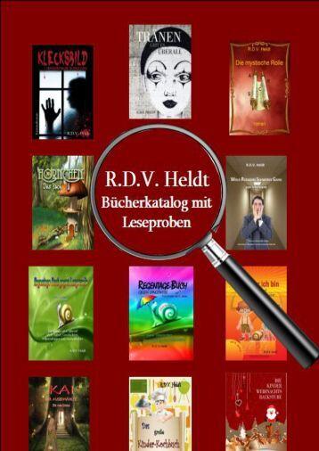 Leseproben meiner erschienenen Veröffentlichungen