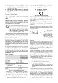 BlackandDecker Perceuse- Cd71re - Type 1 - Instruction Manual (Turque) - Page 6
