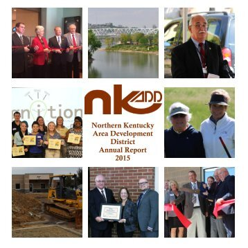 Northern Kentucky Area Development District Annual Report 2015