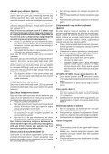 BlackandDecker Perceuse S/f- Hp188f4lbk - Type H3 - Instruction Manual (Turque) - Page 6