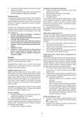 BlackandDecker Perceuse S/f- Epc146 - Type H1 - Instruction Manual (Tchèque) - Page 7