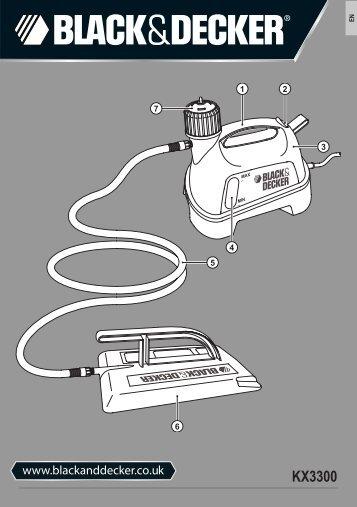 BlackandDecker Decolleuse Papier/pe- Kx3300 - Type 1-2 - Instruction Manual (Anglaise)