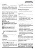 BlackandDecker Poncceuse Orbitale- Ka198gt - Type 1 - Instruction Manual (Européen Oriental) - Page 7