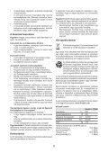 BlackandDecker Ponceuse Orbitale- Ka400 - Type 1 - Instruction Manual (la Hongrie) - Page 6