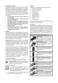 BlackandDecker Ponceuse Vibrante- Ka168k - Type 1 - Instruction Manual (la Hongrie) - Page 6