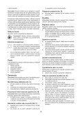 BlackandDecker Poncceuse Orbitale- Xta90ek - Type 3 - Instruction Manual (Slovaque) - Page 6