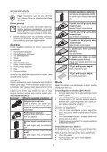 BlackandDecker Ponceuse Vibrante- Ka168k - Type 1 - Instruction Manual (Turque) - Page 6