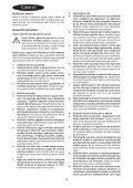 BlackandDecker Ponceuse Vibrante- Ka1000 - Type 1 - Instruction Manual (Turque) - Page 4