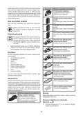 BlackandDecker Ponceuse Vibrante- Ka1000 - Type 1 - Instruction Manual (Turque) - Page 6