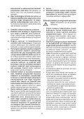 BlackandDecker Ponceuse A Bande- Ka88 - Type 3 - Instruction Manual (Turque) - Page 5