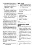 BlackandDecker Ponceuse Orbitale- Ka274ek(L) - Type 1 - Instruction Manual (Turque) - Page 5