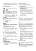 BlackandDecker Poncceuse Orbitale- Ka198 - Type 1 - Instruction Manual (Turque) - Page 6