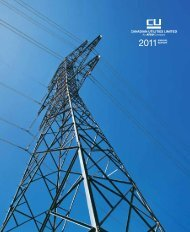 Annual Report - Canadian Utilities Limited