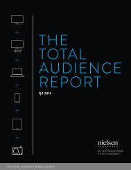 THE TOTAL AUDIENCE REPORT