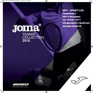 GPS Sports Joma Tennis Sport