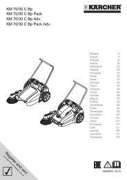 Karcher KM 70/30 C Bp Pack Confort - manuals