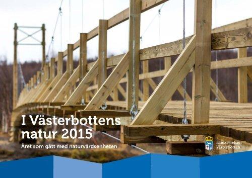 I Västerbottens natur 2015
