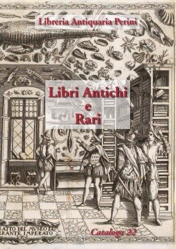 Catalogo 22 - Libreria Antiquaria Perini