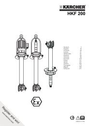 Karcher HKF 200 Inox - manuals