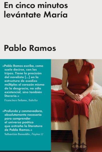 En cinco minutos levántate María Pablo Ramos