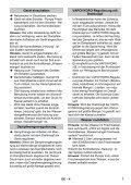 Karcher Nettoyeur vapeur SG 4/4 - manuals - Page 7