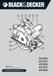 BlackandDecker Scie Circulaire- Ks1400l - Type 2 - Instruction Manual (Roumanie)