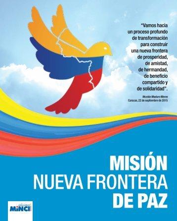 MISIÓN NUEVA FRONTERA DE PAZ