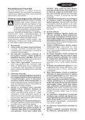 BlackandDecker Scie Sauteuse- Ks900slw - Type 1 - Instruction Manual (la Hongrie) - Page 5