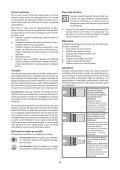 BlackandDecker Outil Oscillatoire- Mt300 - Type 1 - Instruction Manual (Roumanie) - Page 6