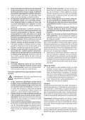 BlackandDecker Scie Sauteuse- Ks800s - Type 1 - Instruction Manual (Roumanie) - Page 6