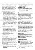 BlackandDecker Scie- Ks890gt - Type 1 - Instruction Manual (Tchèque) - Page 5